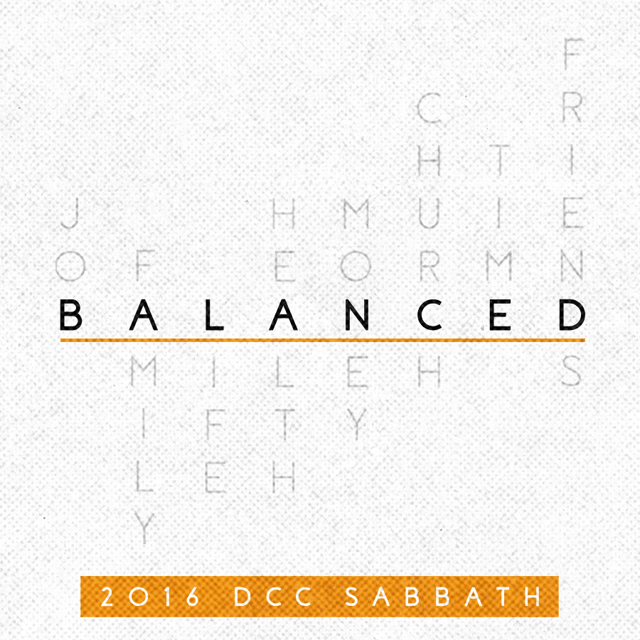 Balanced – Week Four