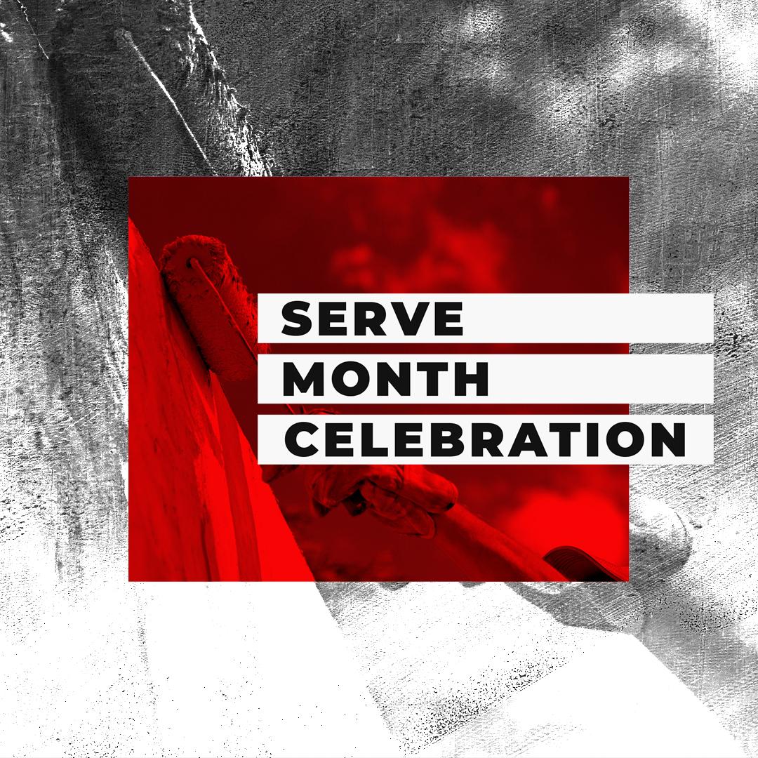 2019 Serve Month Celebration